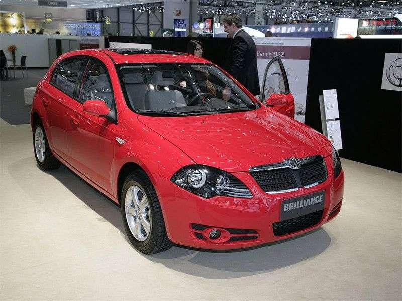 Brilliance BS2 1st generation 1.6 MT hatchback (2007 – present)