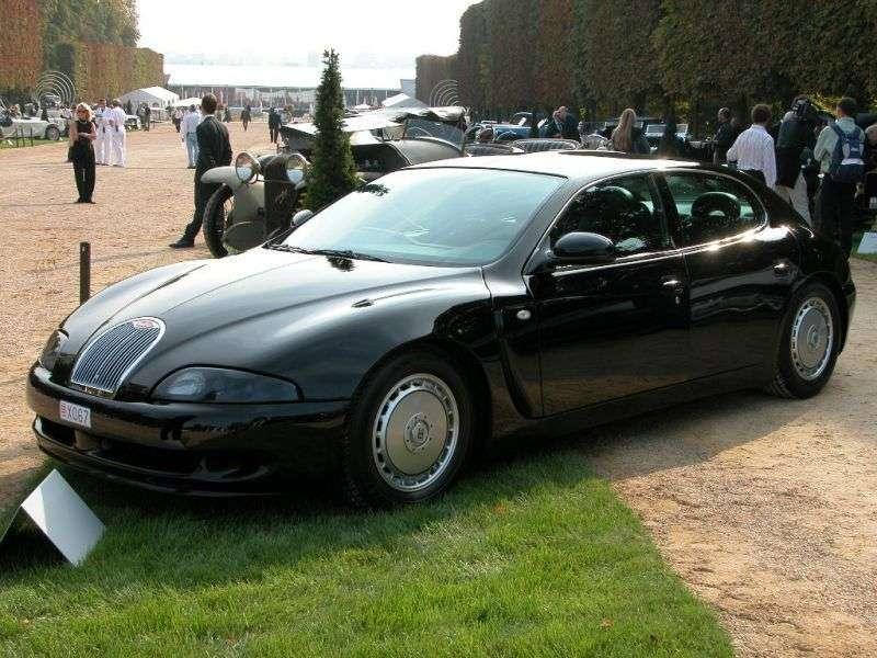 Bugatti EB 112 1st generation fastback 6.0 MT (1993–1998)