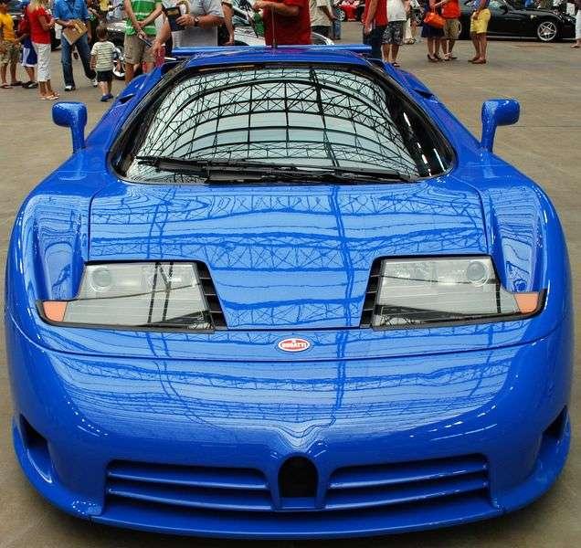 Bugatti EB 110 1st generation coupe 3.5 MT (1991–1996)