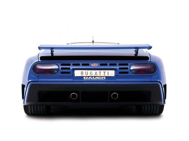Bugatti EB 110 1st generation coupe 3.5 MT (1992–1996)
