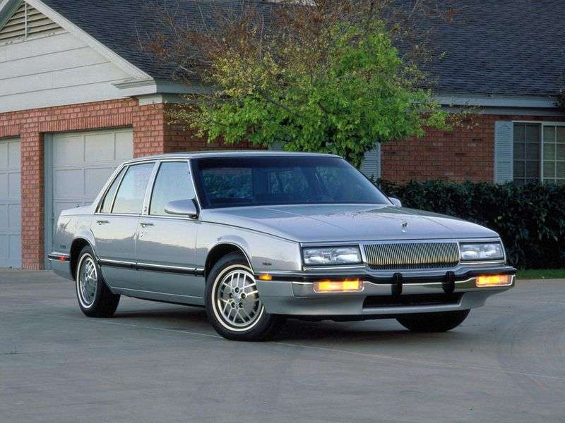 Buick LE Saber 6th generation sedan 3.8 AT (1986–1991)
