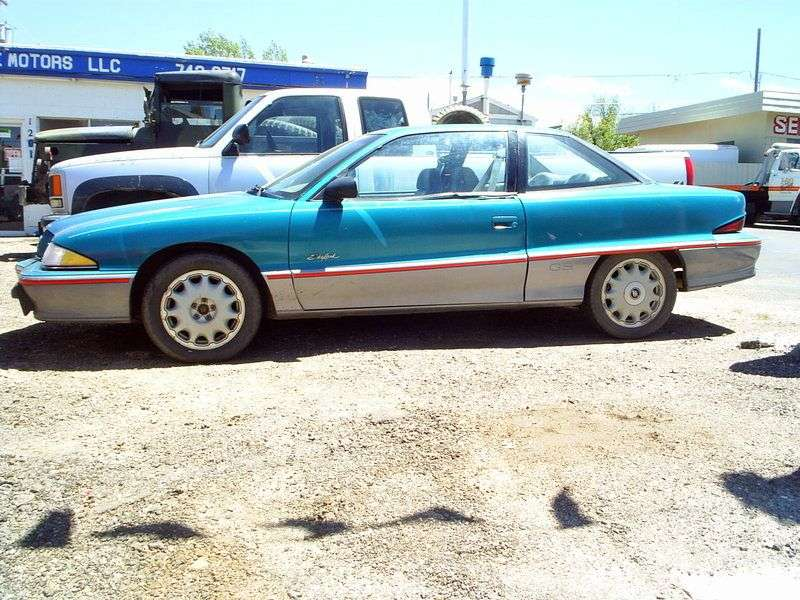 Buick Skylark 7 generation coupe 3.1 AT (1994–1998)