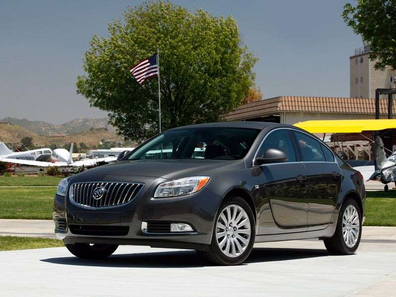 Buick Regal 5 generation sedan 3.0 AT (2004–2008)