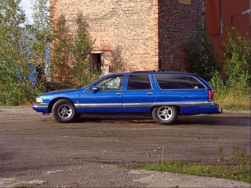 Buick Roadmaster 8th generation wagon 5.7 AT (1991–1996)