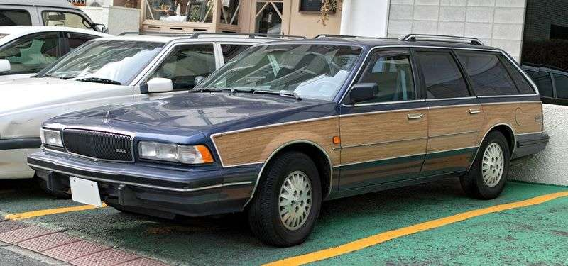 Buick Century 5th generation station wagon 3.3 AT (1982–1996)