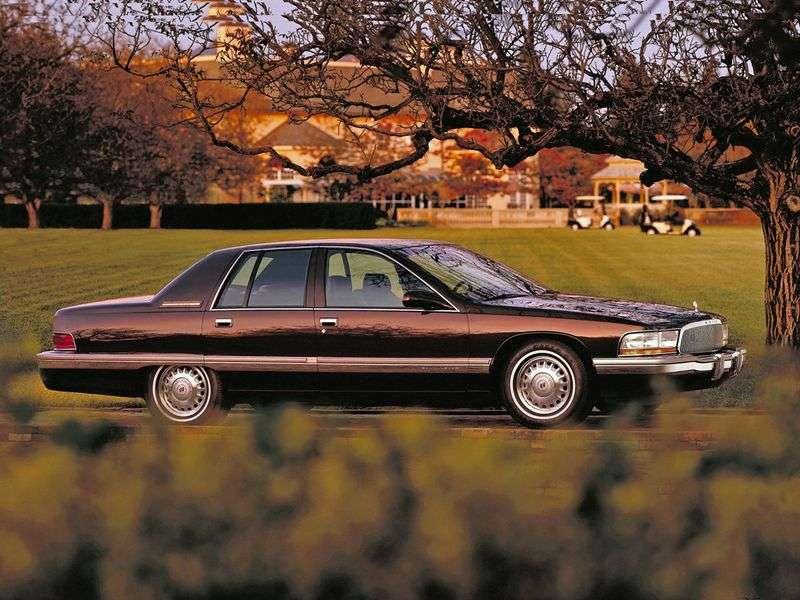 Buick Roadmaster 8th generation sedan 5.7 AT (1991–1996)