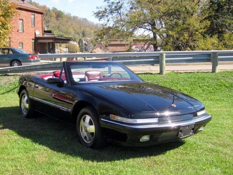 Buick Reatta 1st generation convertible 3.8 AT (1991–1990)