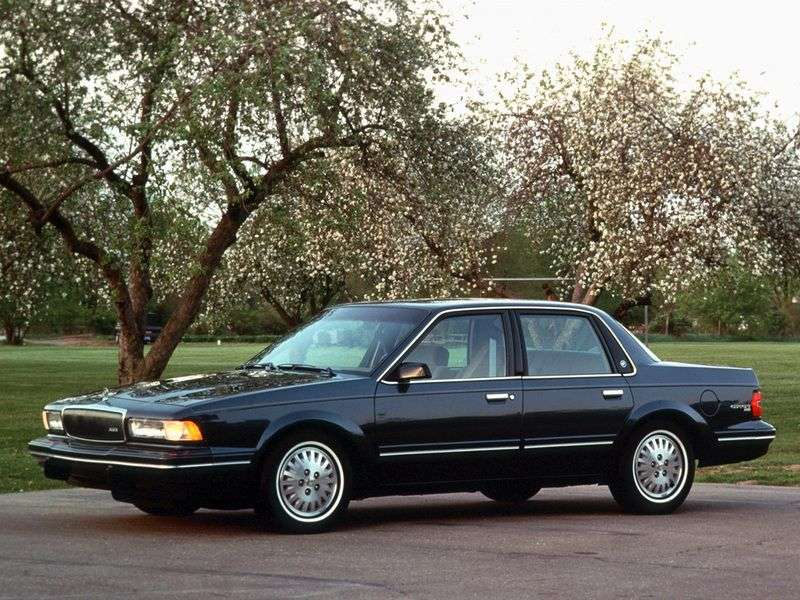 Buick Century 5th generation sedan 3.1 AT (1982–1996)