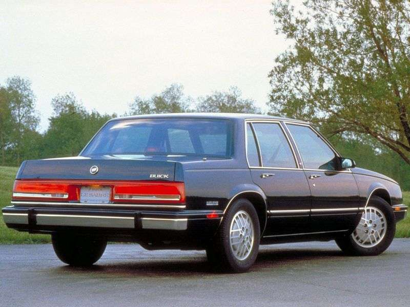 Buick LE Saber 6th generation sedan 3.0 AT (1986–1991)