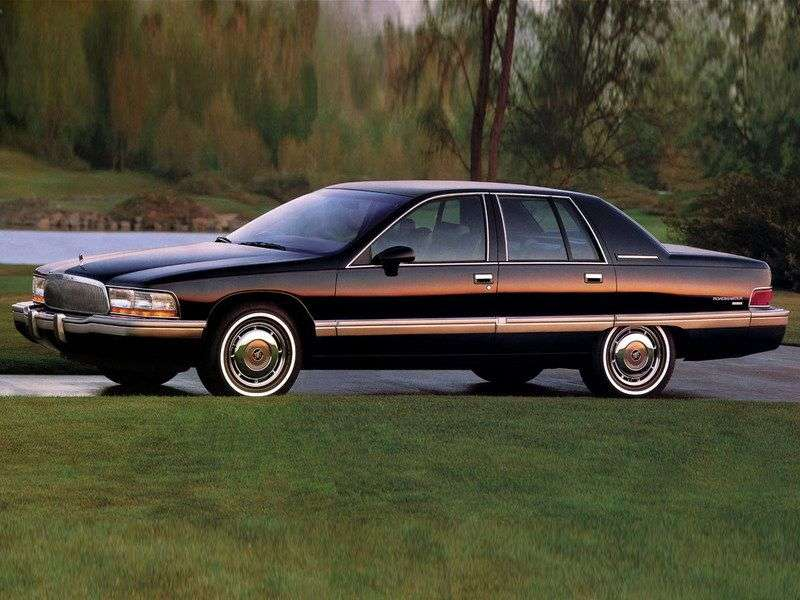 Buick Roadmaster 8th generation sedan 5.7 AT (1991–1996)