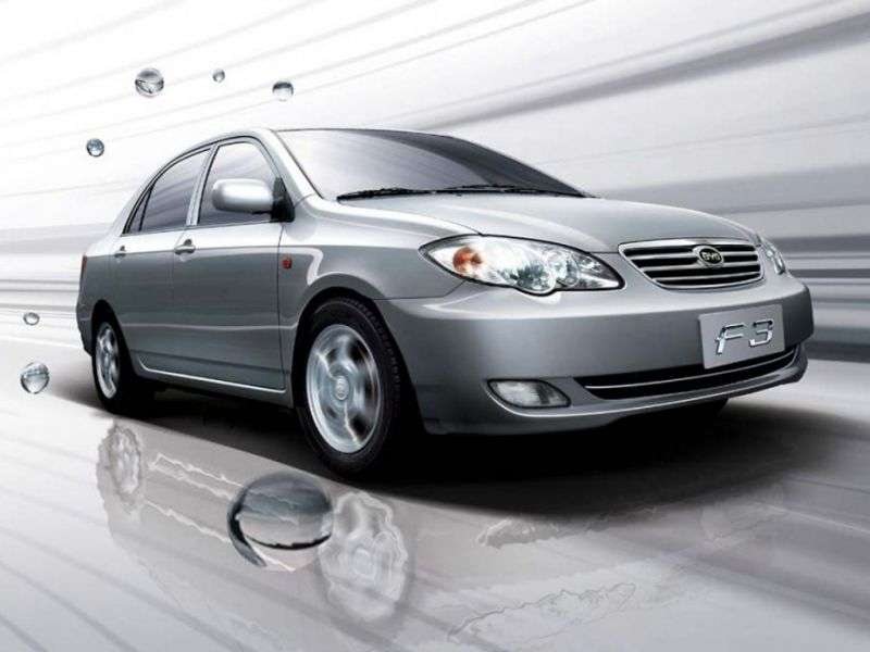 BYD F3 1st generation sedan 1.5 MT MT 3 (2010 – current century)