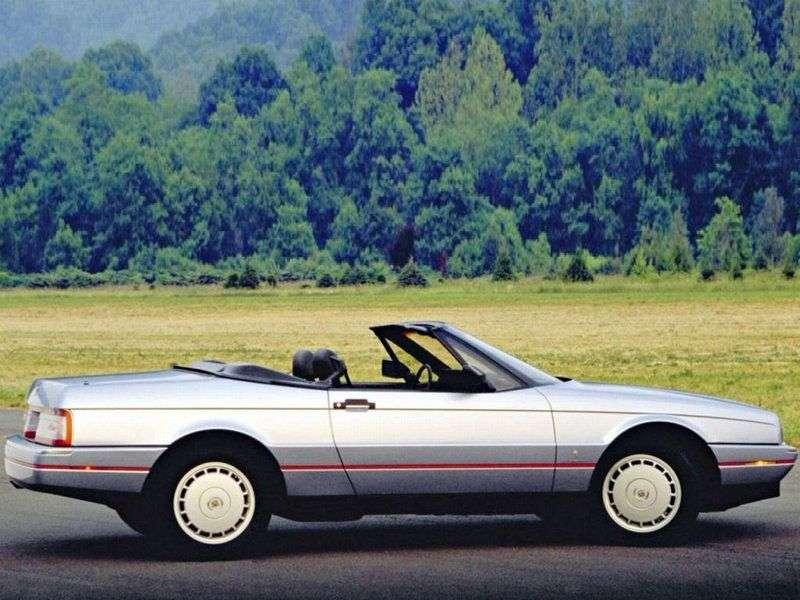 Cadillac Allante 1st generation convertible 4.6i AT (1993–1996)