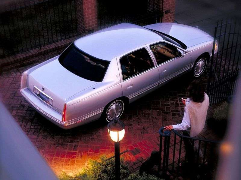 Cadillac DE Ville 10th generation 4.9i sedan AT (1994 1999)