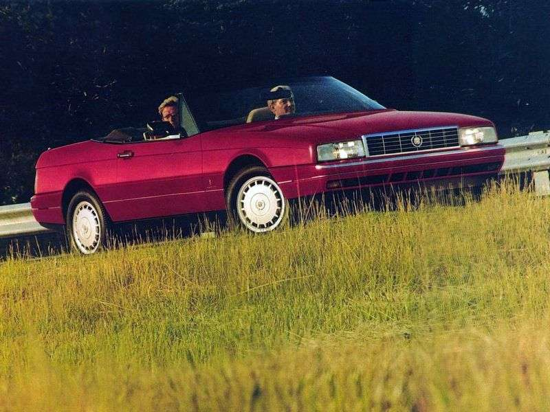 Cadillac Allante 1st generation convertible 4.5i AT (1989–1995)
