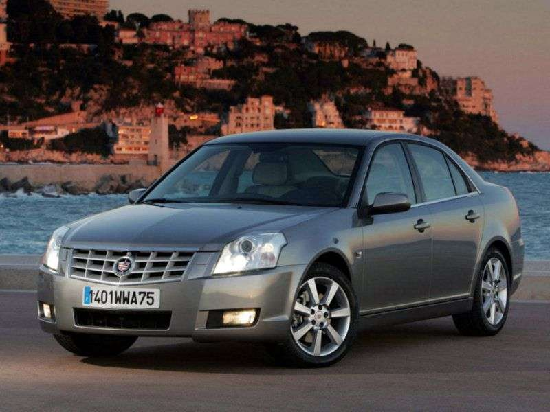 Cadillac BLS 1st generation 2.0 T MT sedan (2006–2009)