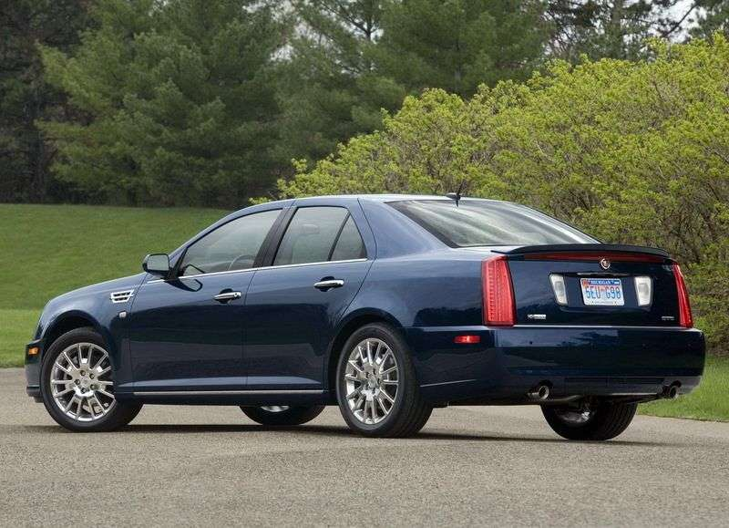 Cadillac STS 1st generation [restyled] sedan 4.6 AT (2008 – n.)