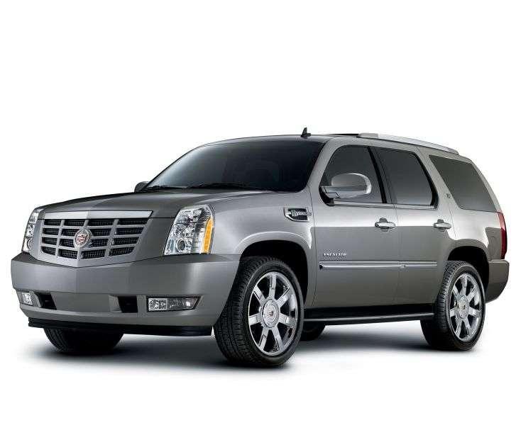 Cadillac Escalade 3rd generation SUV Vortec 6.2L V8 SFI Platinum (2012) (2007 – present)