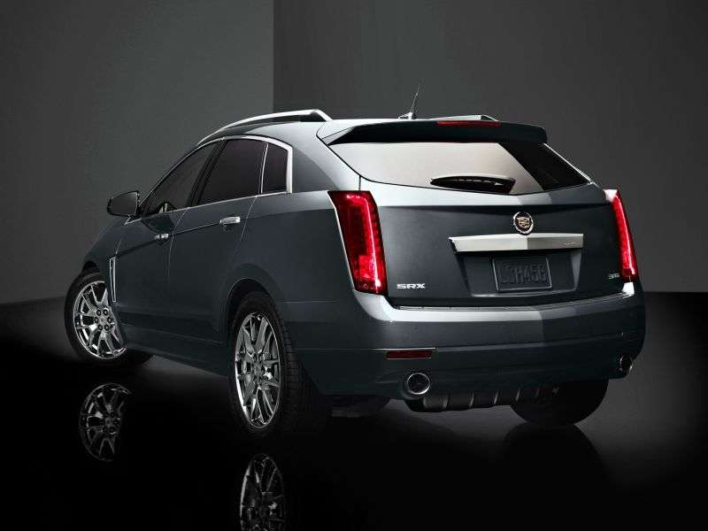 Cadillac SRX 2nd generation [restyling] crossover 3.0 AT AWD Top (2012 – n.)