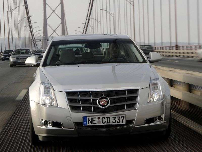 Cadillac CTS 2nd generation 4 door sedan. 3.6 V6 VVT DI RWD Elegance (2012) (2007 – present)