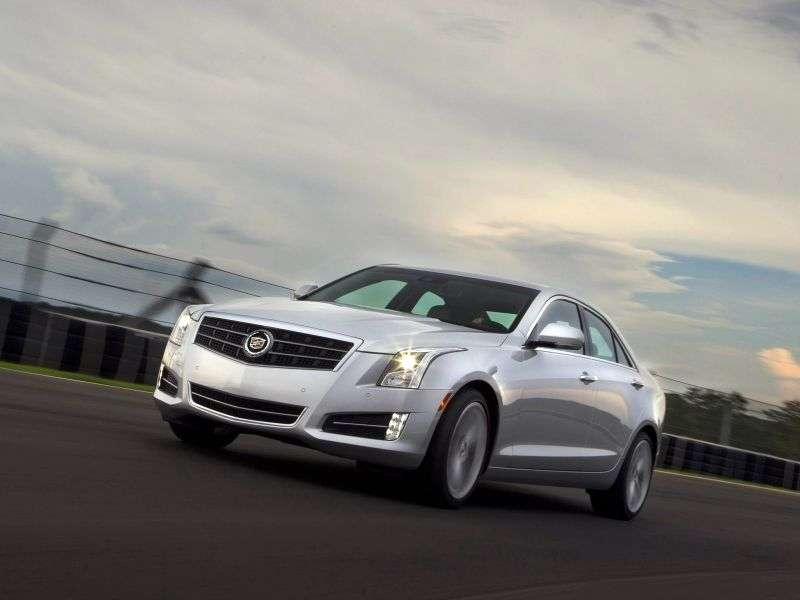 Cadillac ATS 1st generation sedan 2.0 AT RWD Performance (2012 – n.)