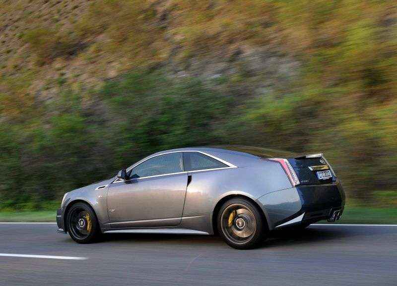 Cadillac CTS 2nd generation CTS V coupe 2 bit. 6.2 AT (2011 – n. In.)