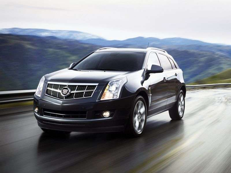 Cadillac SRX 2nd generation crossover 3.0 V6 SIDI Base (2012) (2012 – n.)