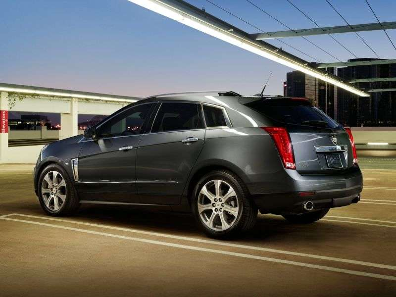 Cadillac SRX 2nd generation [restyling] crossover 3.6 AT AWD Top (2012 – v.)