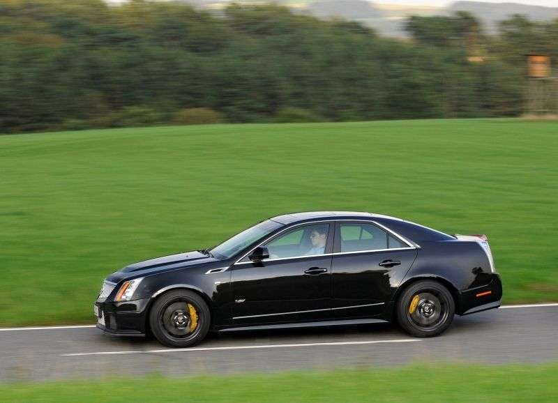 Cadillac CTS 2nd generation CTS V 4 door sedan. 6.2 AT (2009 – n. In.)