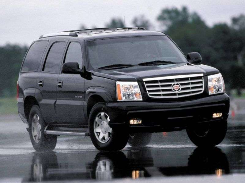 Cadillac Escalade 2nd generation SUV 6.0i AT AWD (2002–2006)