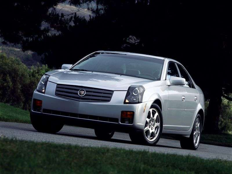 Cadillac CTS 1st generation 2.6Li AT sedan (2002–2005)