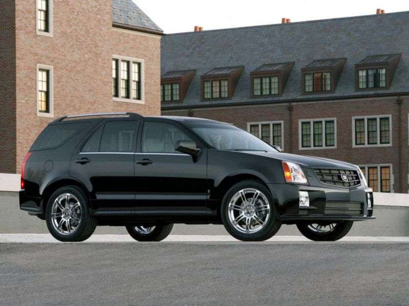 Cadillac SRX 1st generation crossover 4.6 AT (2004–2009)