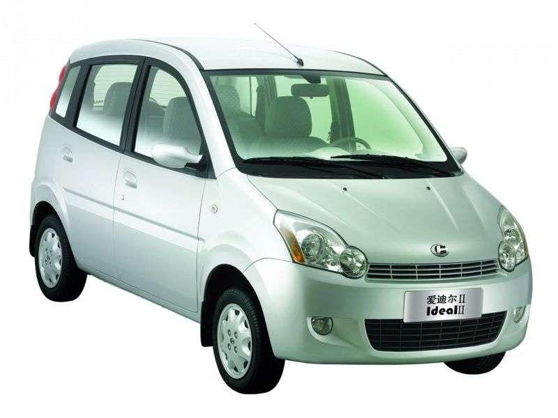 Changhe Ideal 2nd generation hatchback 1.1 MT (2006 – present)