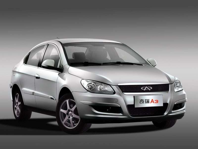 Chery M11 1st generation sedan 1.6 MT SL7 (2011) (2008–2013)