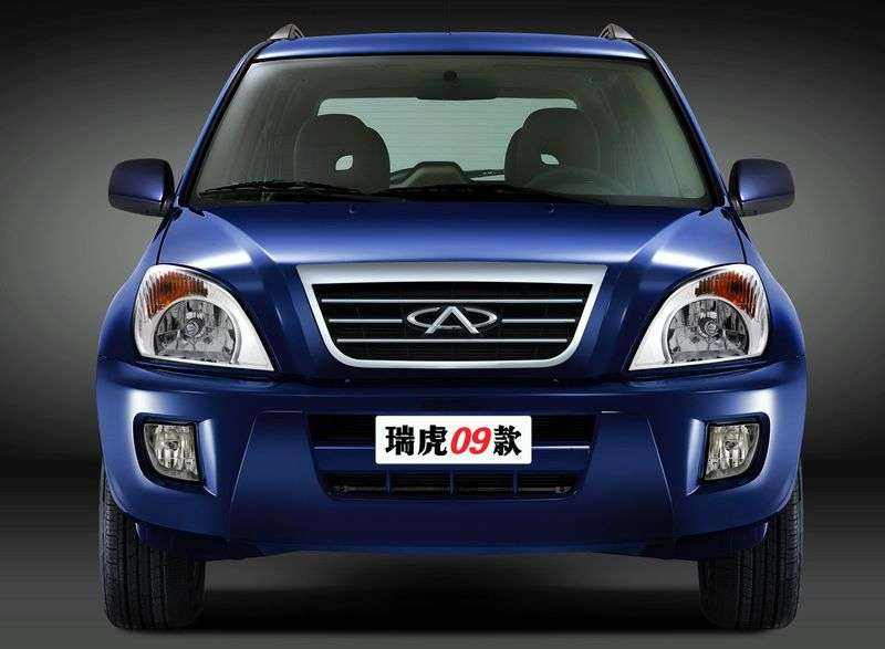 Chery Tiggo 1st generation crossover 1.8 MT Base (2005–2011)