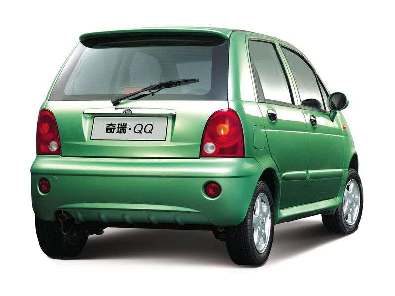 Chery QQ 1st generation hatchback 1.1 AT (2005–2009)