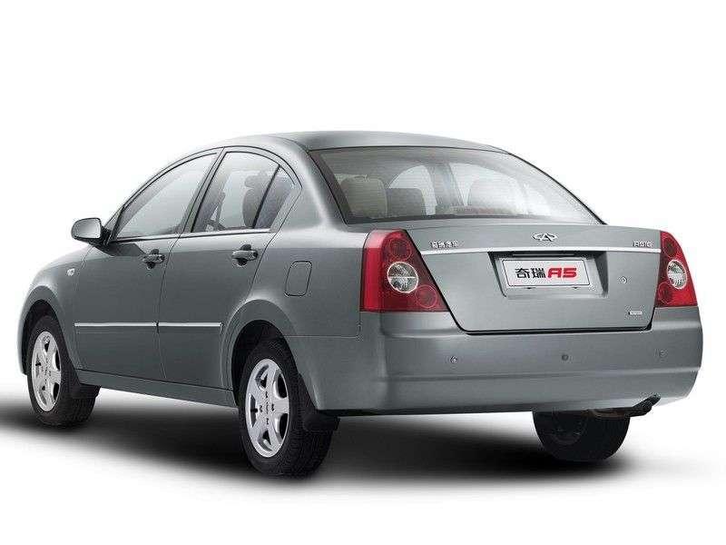 Chery Fora 1st generation sedan 2.0 MT (2006 – n. In.)