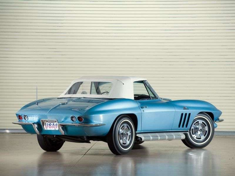 Chevrolet Corvette C2 [3rd restyling] Sting Ray Convertible 5.4 3Syncro Mesh (1966–1966)