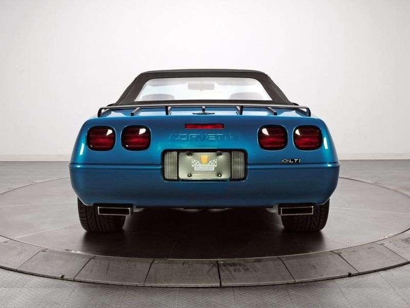 Chevrolet Corvette C4 [2nd restyling] roadster 5.7 AT (1991–1996)