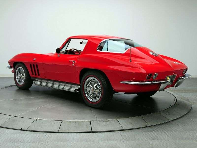 Chevrolet Corvette C2 [2nd restyling] Sting Ray Coupe 5.4 Powerglide (1965–1965)