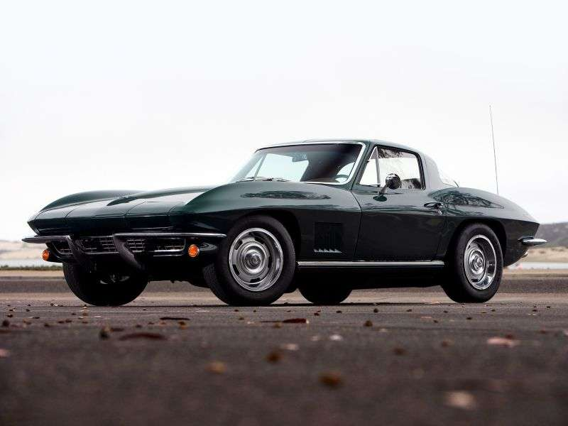 Chevrolet Corvette C2 [4th restyling] Sting Ray Coupe 5.4 4Syncro Mesh (1967–1967)