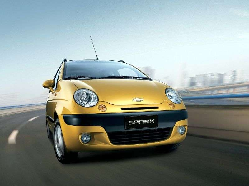 Chevrolet Spark M150hatchback 1.0 MT (2003–2011)