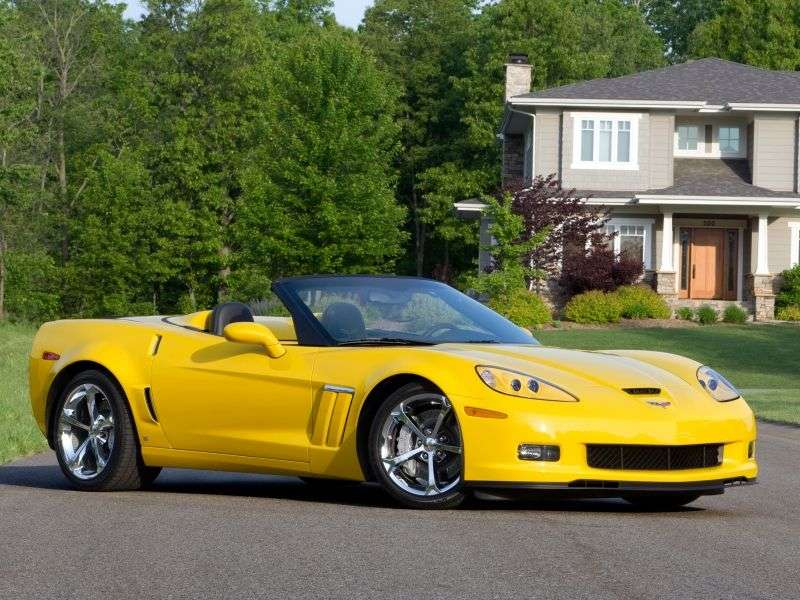 Chevrolet Corvette C6 [restyling] Grand Sport Convertible 6.2 MT (2009–2012)