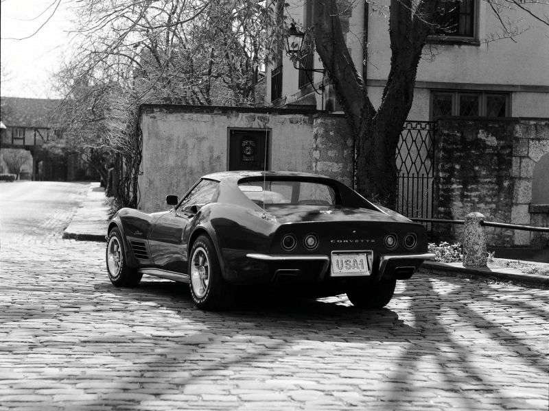 Chevrolet Corvette C3 [Restyling] Sting Ray Targa 7.4 4MT (1970–1972)