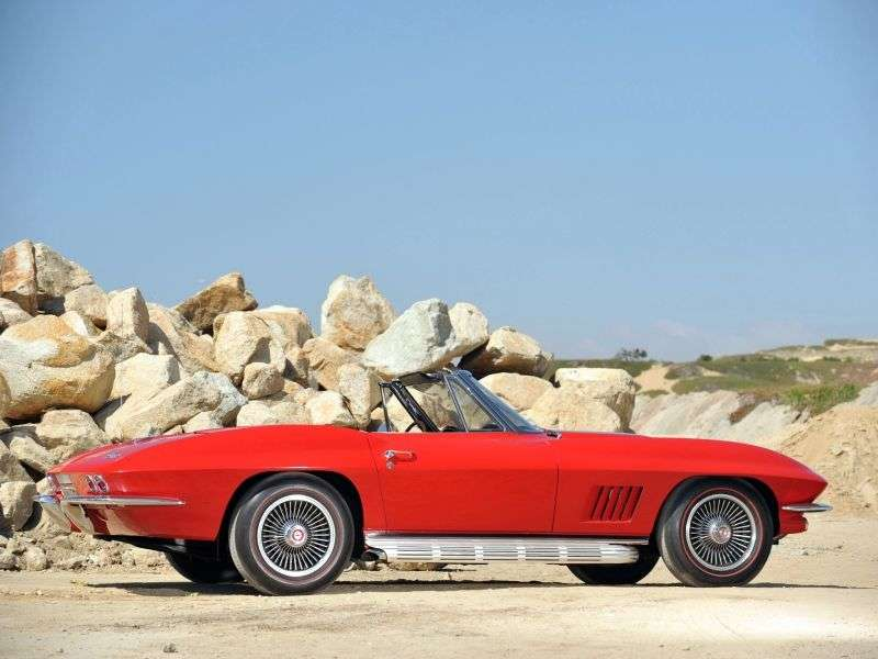 Chevrolet Corvette C2 [4th restyling] Sting Ray roadster 5.4 3Syncro Mesh (1967–1967)