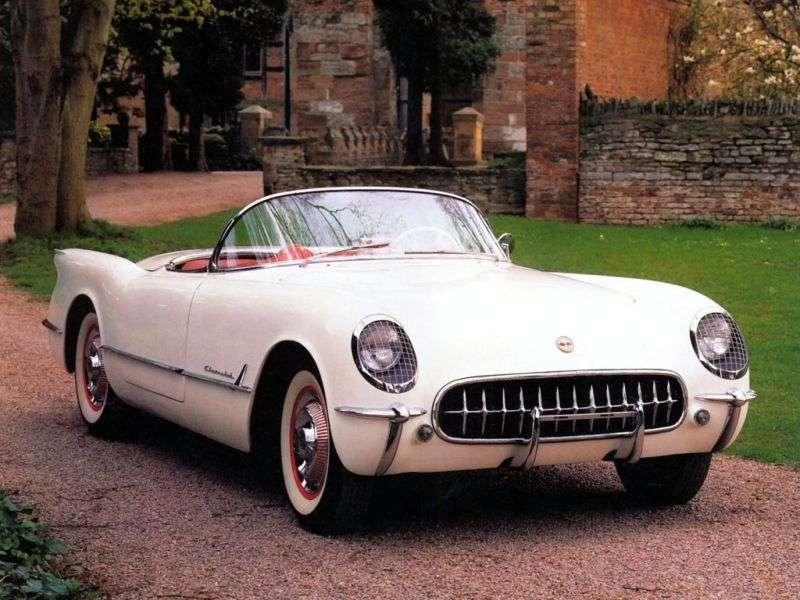 Chevrolet Corvette C1 4.3 Powerglide (1955–1955)