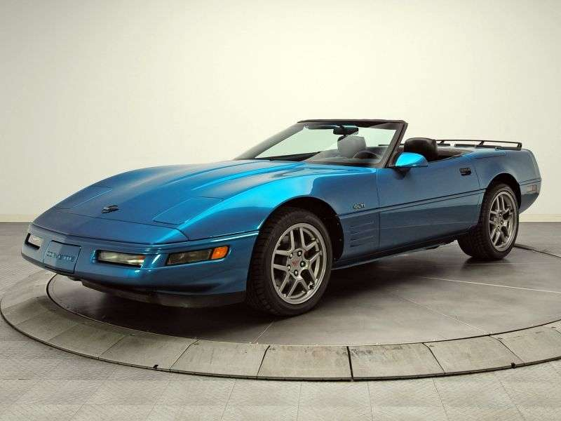 Chevrolet Corvette C4 [2nd restyling] roadster 5.7 MT (1991–1996)