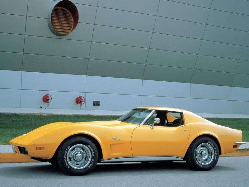 Chevrolet Corvette C3 [2nd restyling] Sting Ray Targa 5.7 Turbo Hydra Matic (1974–1975)