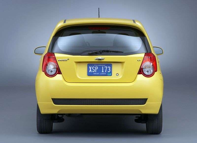 Chevrolet Aveo T250 [restyling] hatchback 5 dv. 1.2 MT Base (1AK48EO5B) (2008–2011)
