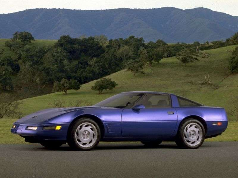 Chevrolet Corvette C4 [2 nd restyling] Targa 2 dv. 5.7 MT (1991–1996)
