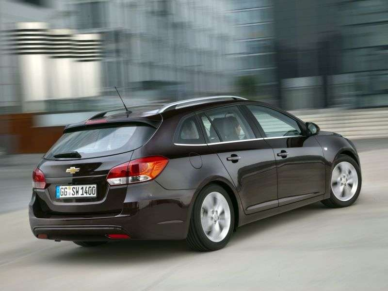 Chevrolet Cruze J300 [restyling] 5 speed wagon. 1.8 AT LTZ (1PR35KCF4) (2012 – current century)